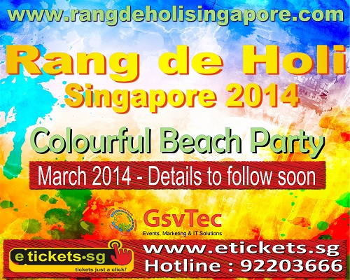 rang de holi festival of colors