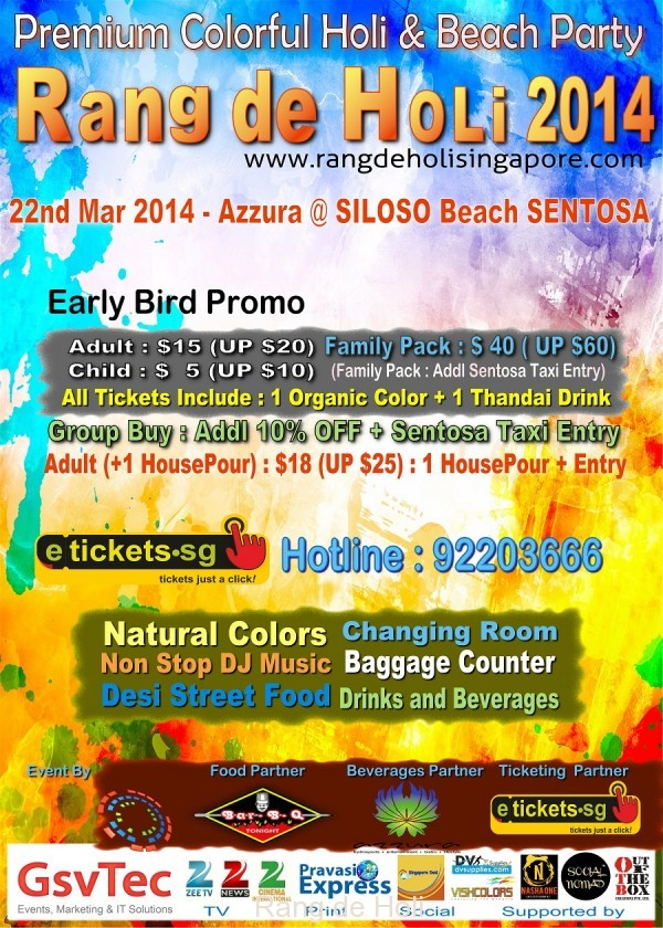 biggest and most premium holi in singapore