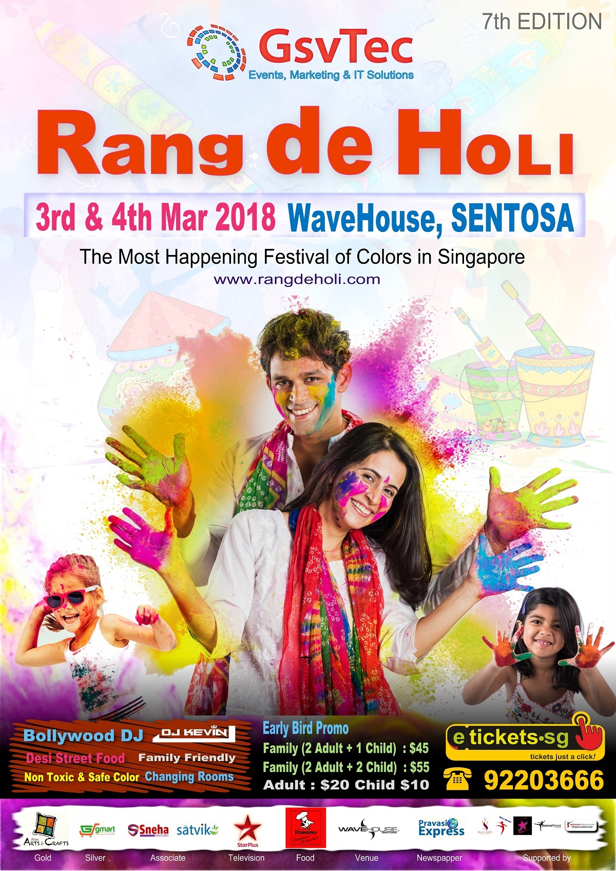 festival of colors rang de holi